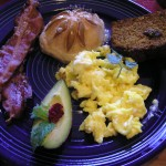 Fresh Eggs from Marathon's Z-Bar Ranch and a big breakfast!