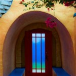 "Archway into Blue-Alexa Walker-by Alexa Walker -8"" by 12"" Photograph"