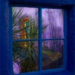 """Blue Window (Arthur's Window)-by Alexa Walker -8"""" by 12"""" Photograph"""
