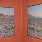 """From the Heart of the Big Bend"" Diptych each 24 by 36-Oli on Canvas by Priscilla Wiggins"