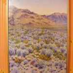 "Left side from the ""Heart of the Big Bend"" Diptich 24"" by 36"" oil on canvas by Priscilla Wiggings"