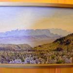 Sun Rising 9 by 12 Oil on Canvas by Priscilla Wiggins