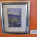 "Watercolor ""Rain Coming"" 7 by 10 by Prixcilla Wiggins"
