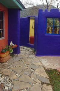 Kathys backyard entrance to garden-room