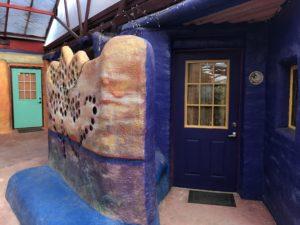 Front door to the Lotus Suite