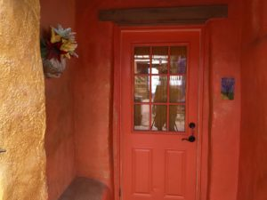 Front door to the Ocotillo Room